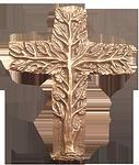 Bronzekreuz Lebensbaum