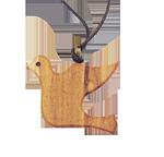 Halsanhänger Taube