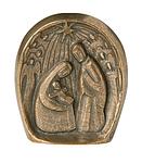 Bronzekrippe Figur zum Stellen