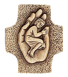 Schützende Hand Kommunionkreuz