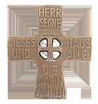 Haussegen Bronze