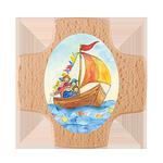 Holzkreuz Boot