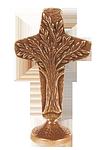 Stehkreuz aus Bronze