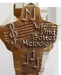 Gottes Melodie (Exklusivmodell) Kommunionkreuz