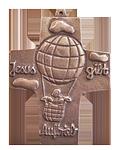 1 SONDERPREIS Auftrieb Kommunionkreuz (Exklusivmodell)