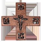 Bronzekreuz Evangelisten