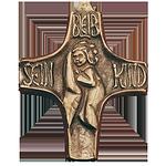 Bleib sein Kind Kommunionkreuz