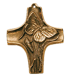 Raupe und Schmetterling Kommunionkreuz