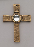 1 SONDERPREIS  Kreuz mit klarem Stein