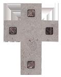 Kalksteinkreuz + Naturstein