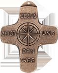 Jesus zeigt uns den Weg  Kommunionkreuz