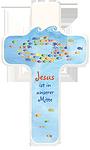 Kinderkreuz Jesus ist in unserer Mitte