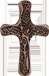 Ehekreuz aus Bronze