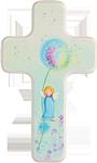 Kinderkreuz Pusteblume mit Engel