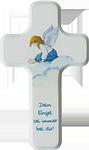 Kinderholzkreuz Dein Engel sei immer bei dir