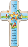 Kinderholzkreuz Wir bitten Gott um Segen