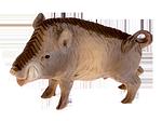 Niederrhein. Künstlerkrippe: Wildschwein