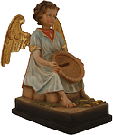 Dankender Engel Opferstock