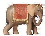 Orient-Krippe: Elefant