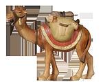Orient-Krippe: Kamel mit Gepäck