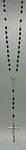 Rosenkranz Kunststoffperle Perlmuttimitation dunkel