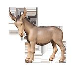 Fill-Krippe: 1 Esel