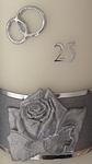 Hochzeitskerze Silberhochzeit