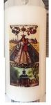 Kerze - Maria Kevelaer + Gnadenkapelle