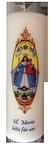 Kerze - Hl. Maria bitte für uns
