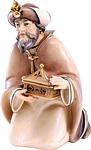 König kniend (lasiert)