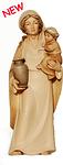 Hirtenfrau mit Kind (lasiert)