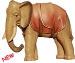 Elefant (lasiert)